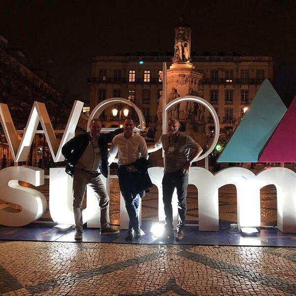 GuardYoo Team at Web Summit 2019