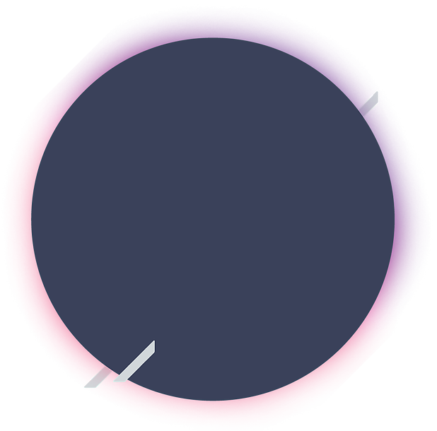 circle with elements